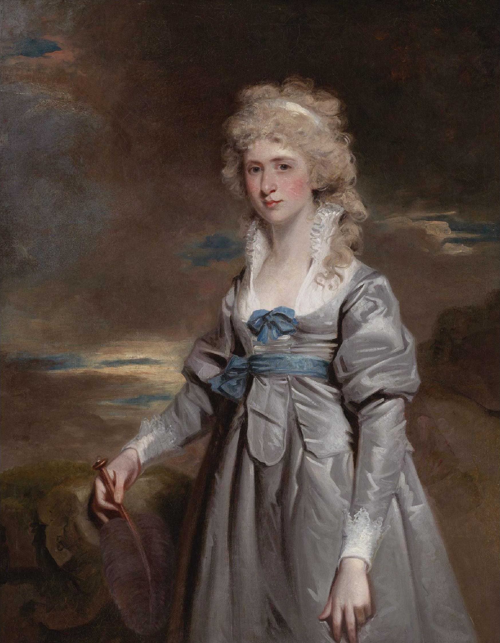 File Charlotte Walsingham Lady Fitzgerald By John Hoppner