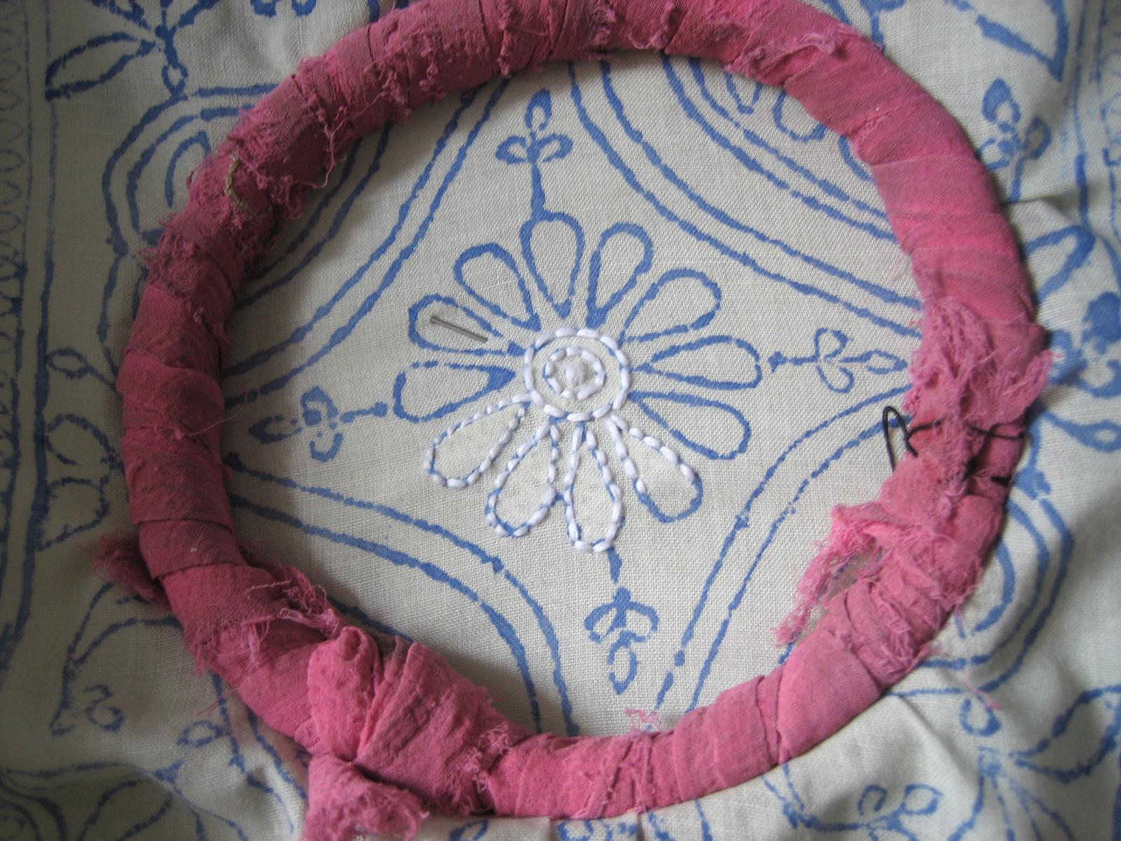 Handmade embroidered ladies kurta kurti chikan tops