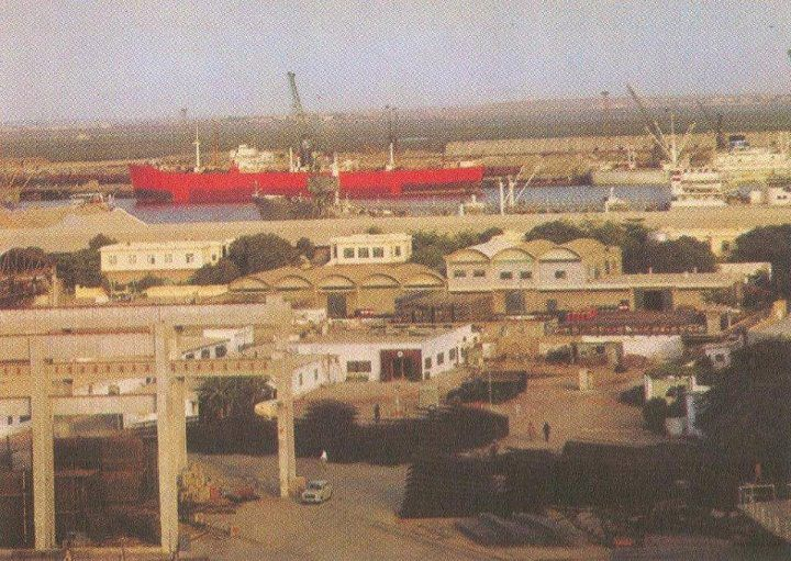 Chittagong port 1960.jpg