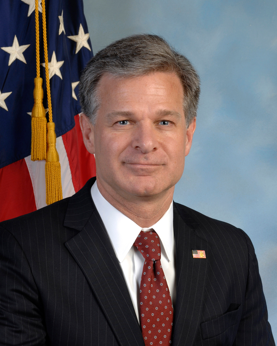 Christopher a wray wikipedia for Bureau government