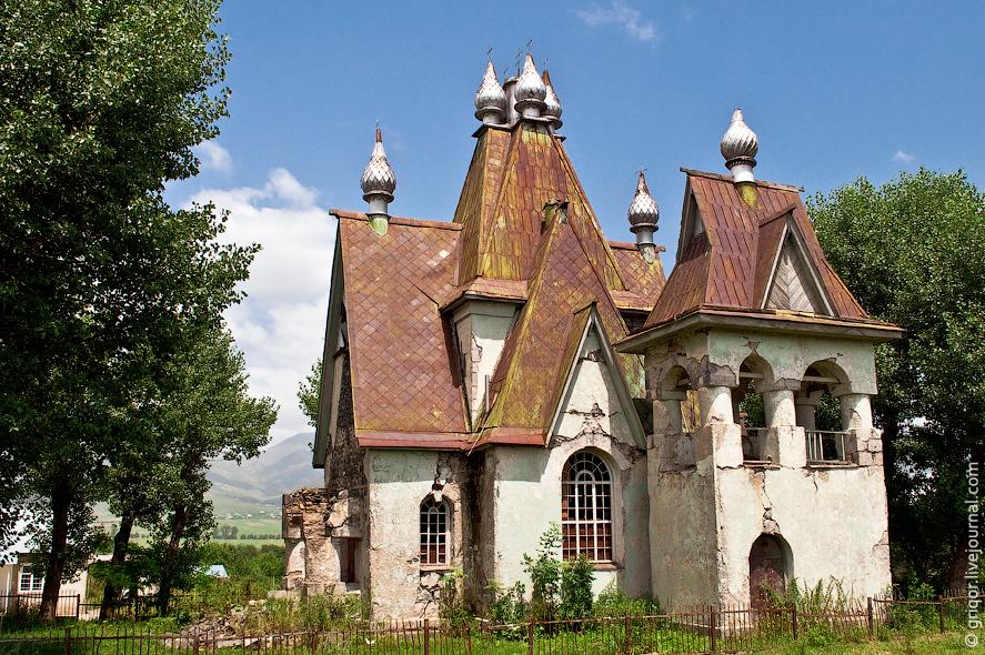 Церковь Николая Чудотворца в с. Амракиц