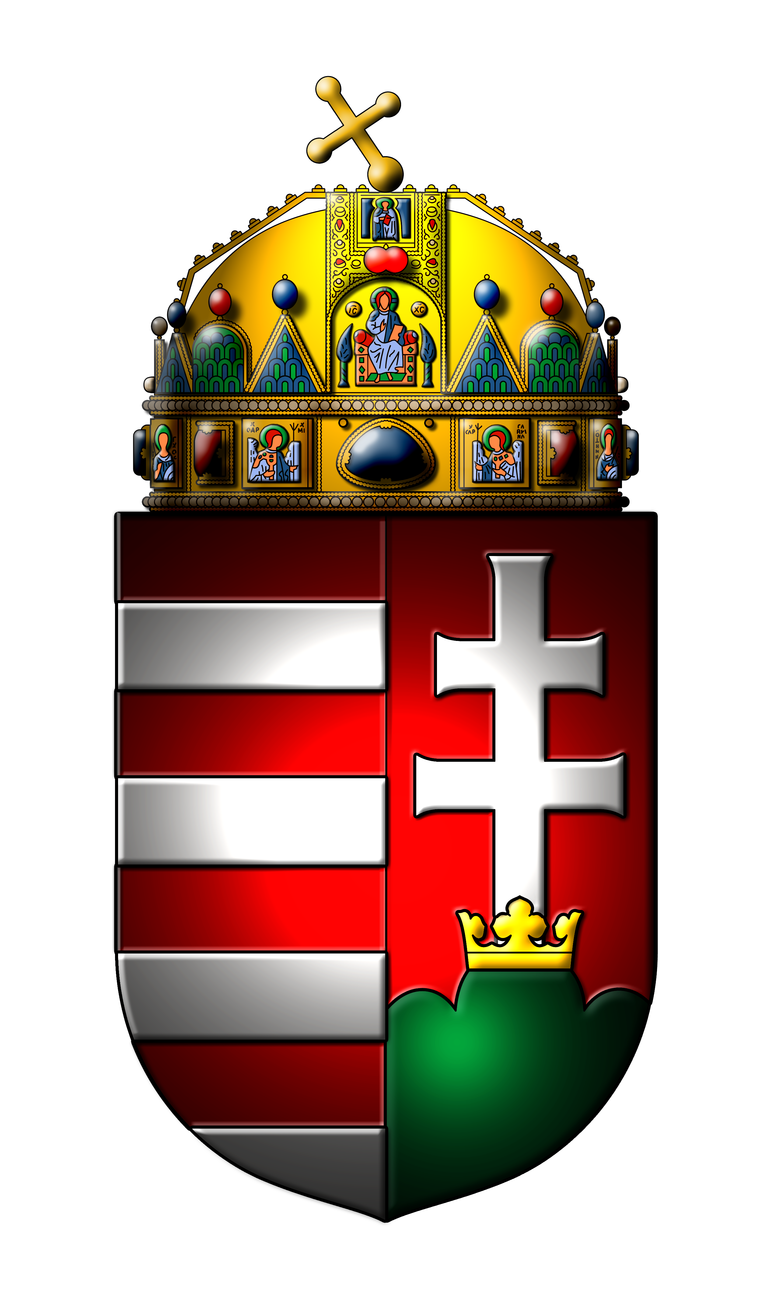 File Coat Of Arms Of Hungary Png