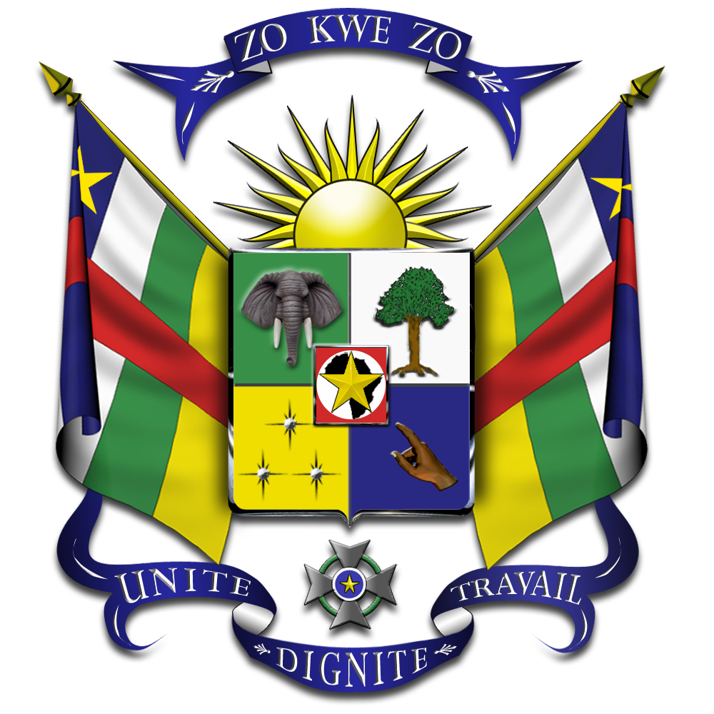 file coat of arms of the central african republic. Black Bedroom Furniture Sets. Home Design Ideas
