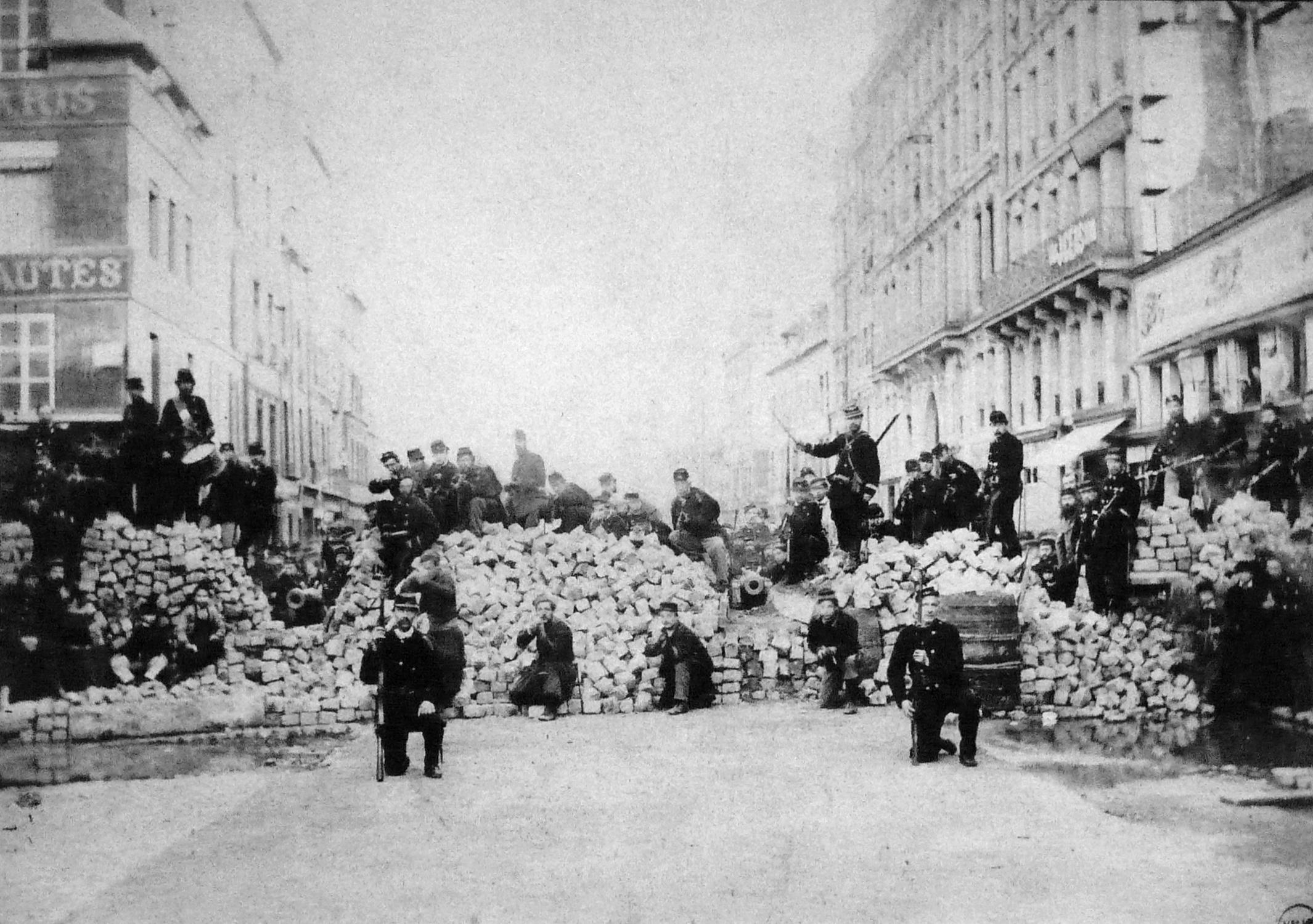 File commune de paris barricade du faubourg saint antoine - Paris rue du faubourg saint antoine ...