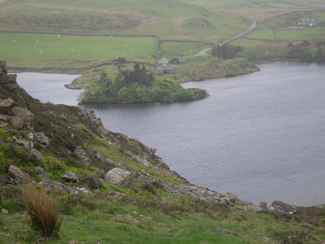 Cregennen Lakes from an ascent of Pared Y Cefn Hir - geograph.org.uk - 1312165