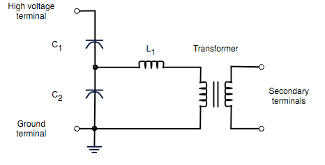 capacitor voltage transformer wikipedia rh en wikipedia org Low Voltage Wiring Basics 2007 KLR 650 Wiring Diagram