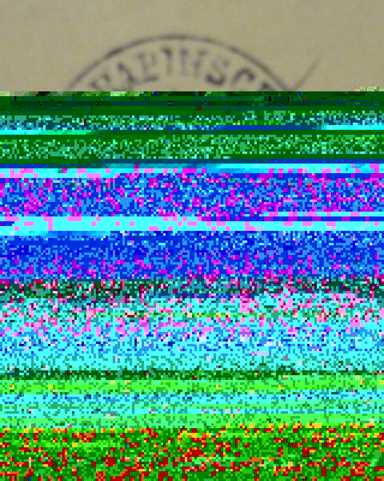 Result of a failed data recovery from a Hard disk drive.