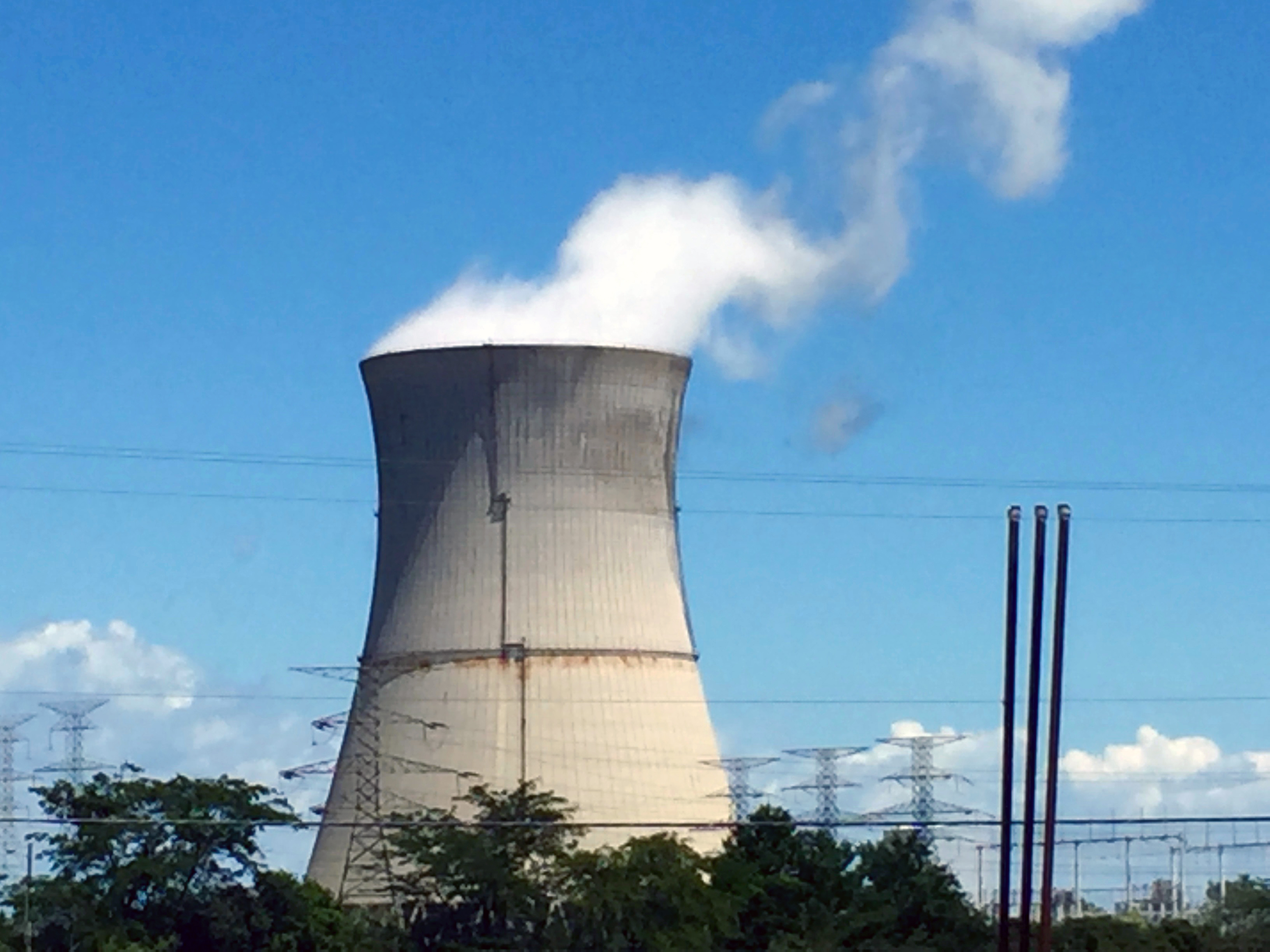 File Davis Besse Nuclear Power Station cooling tower 4181