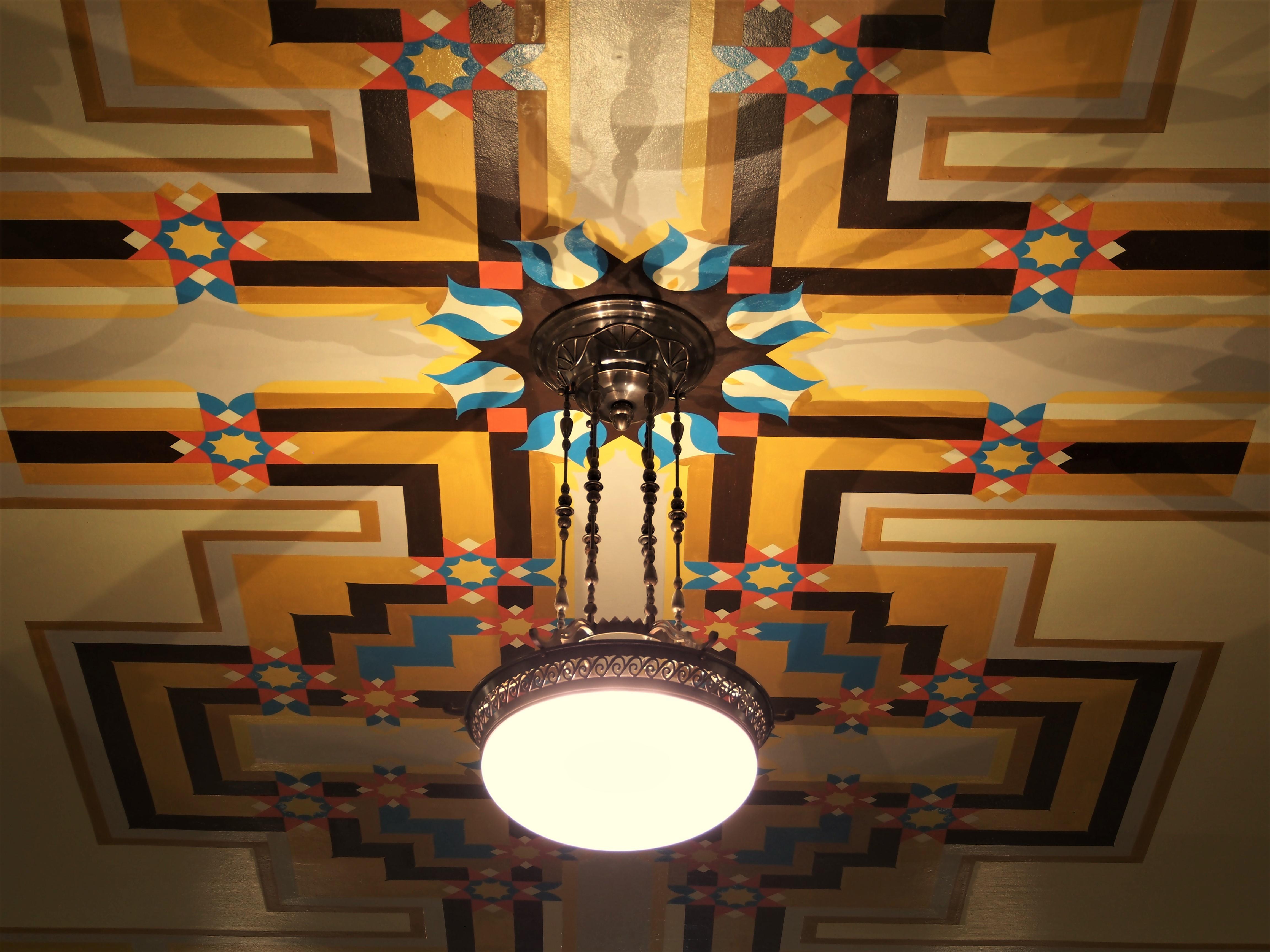Plafoniere Per Van : File:de bazel foto22 art deco met plafoniere.jpg wikimedia commons
