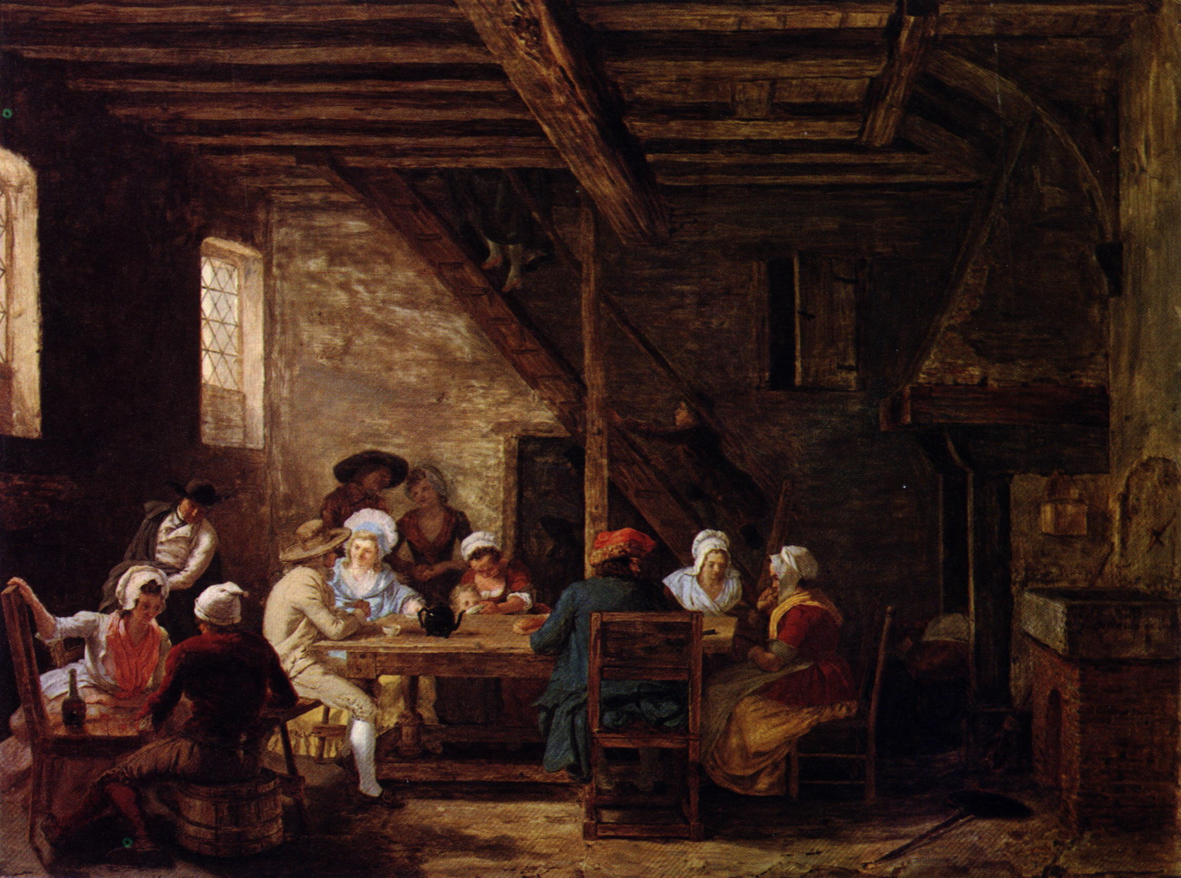 In Law Cottage File Defrance Pub Interior2 18th C Jpg