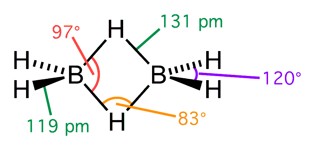 Diborane - Wikipedia B2h6 Lewis Structure
