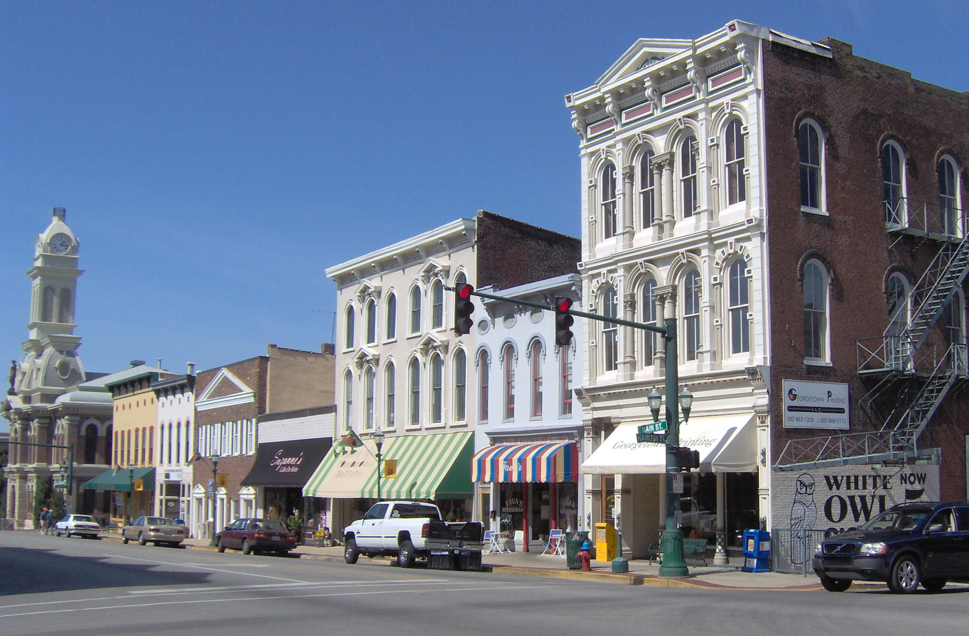 File Downtown Georgetown Kentucky Jpg Wikimedia Commons