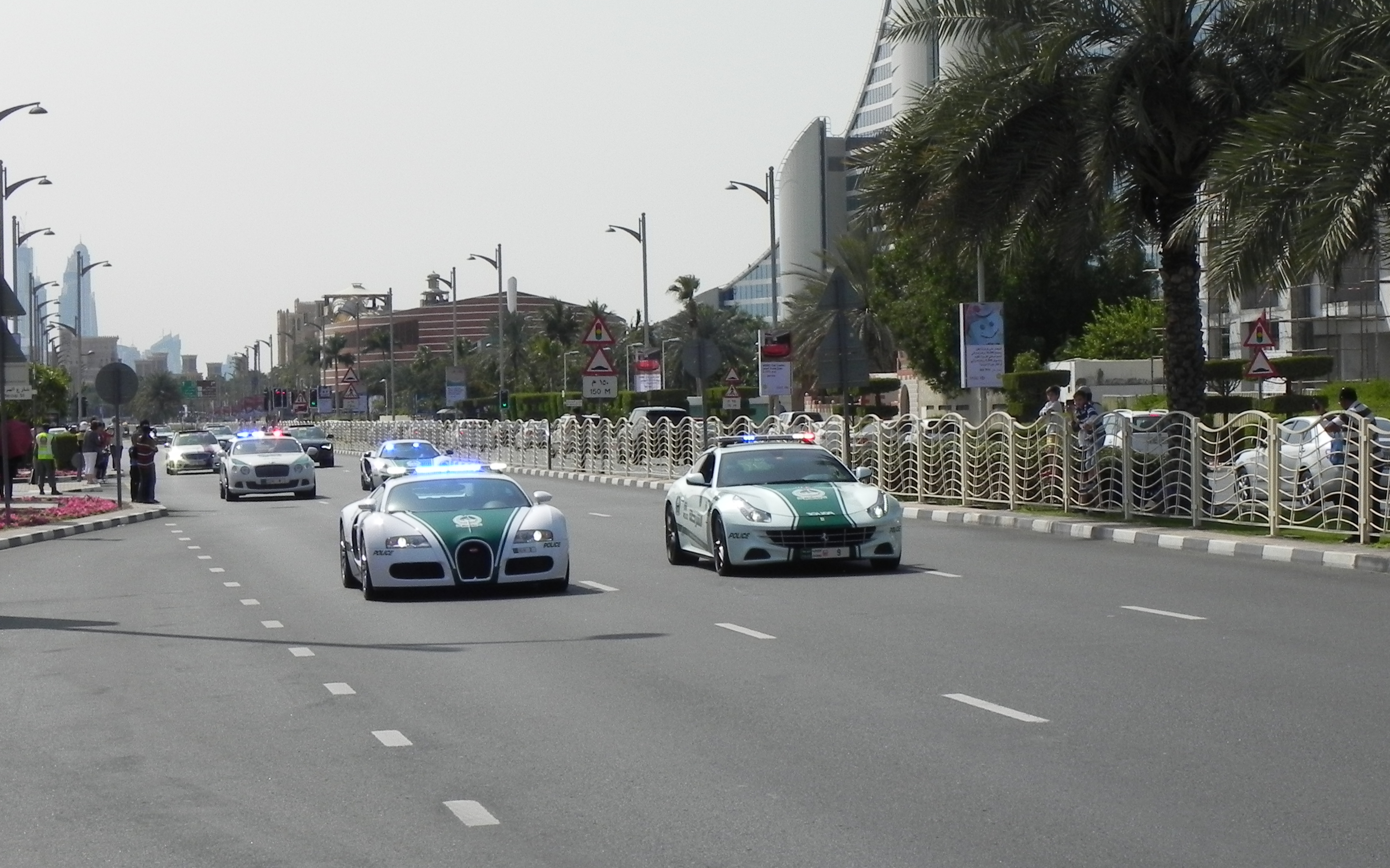 Dubai New Police Cars