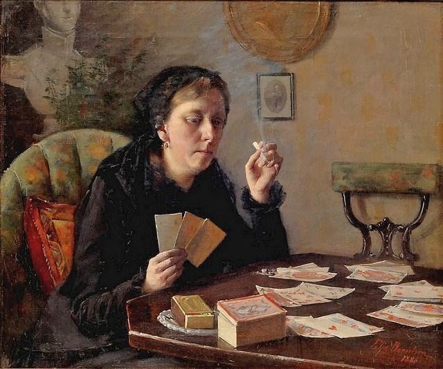 Elin Danielson-Gambogi - Balda-tädin ajanviete (1886)