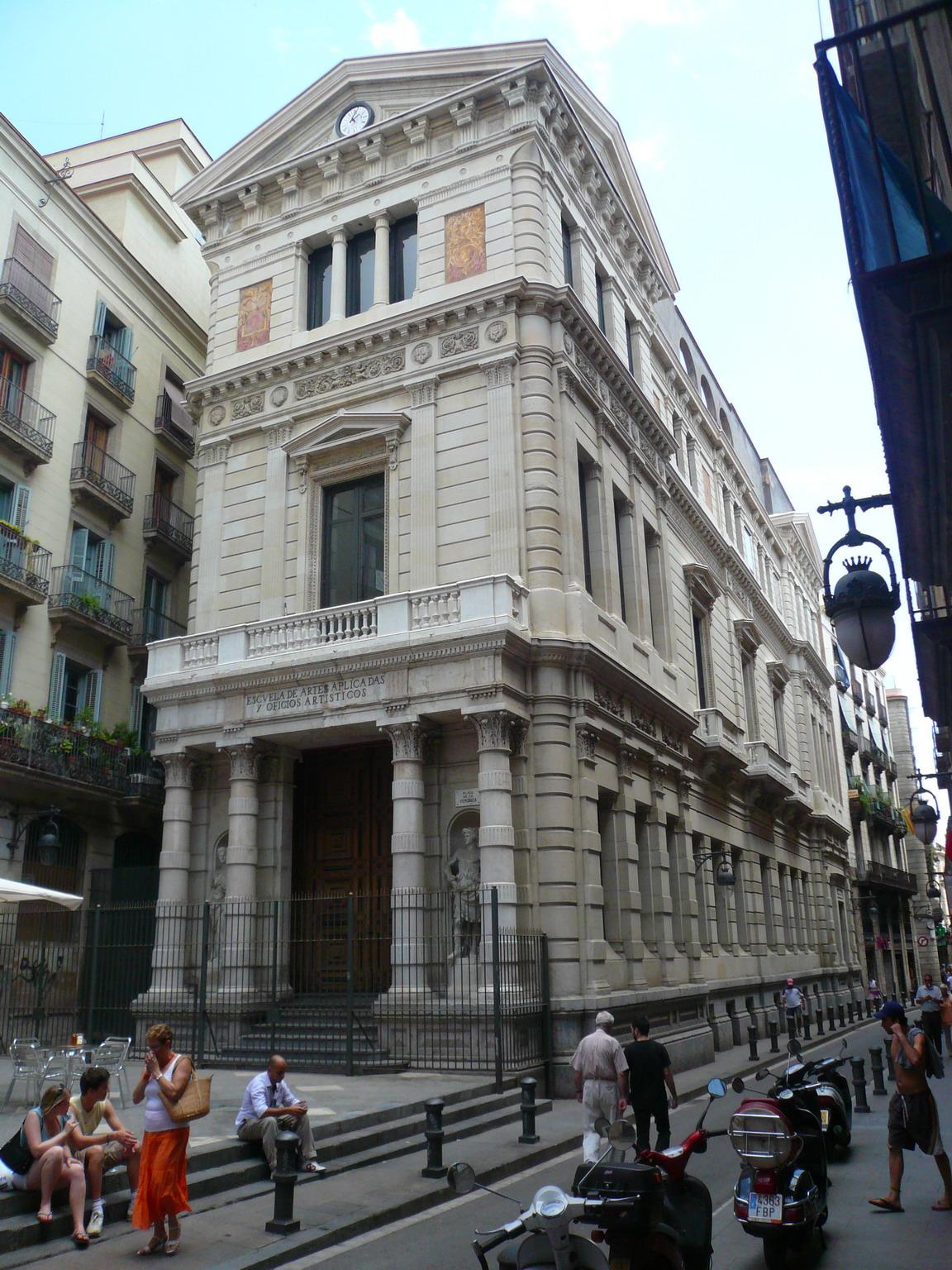 Cole de la llotja wikip dia - Escuela de arquitectura de barcelona ...