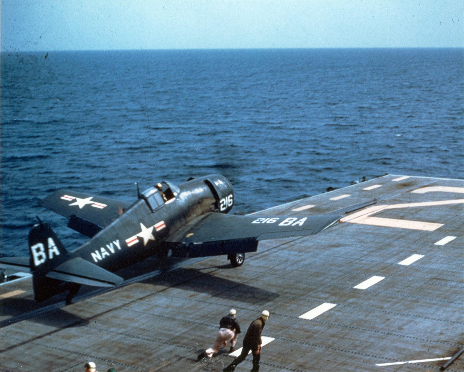 http://upload.wikimedia.org/wikipedia/commons/6/63/F6F-5_launching_from_USS_Monterey_1953.jpg