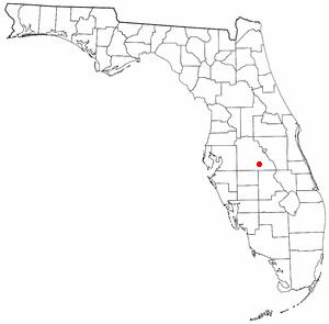 Frostproof Florida Map.Frostproof Florida Wikipedio