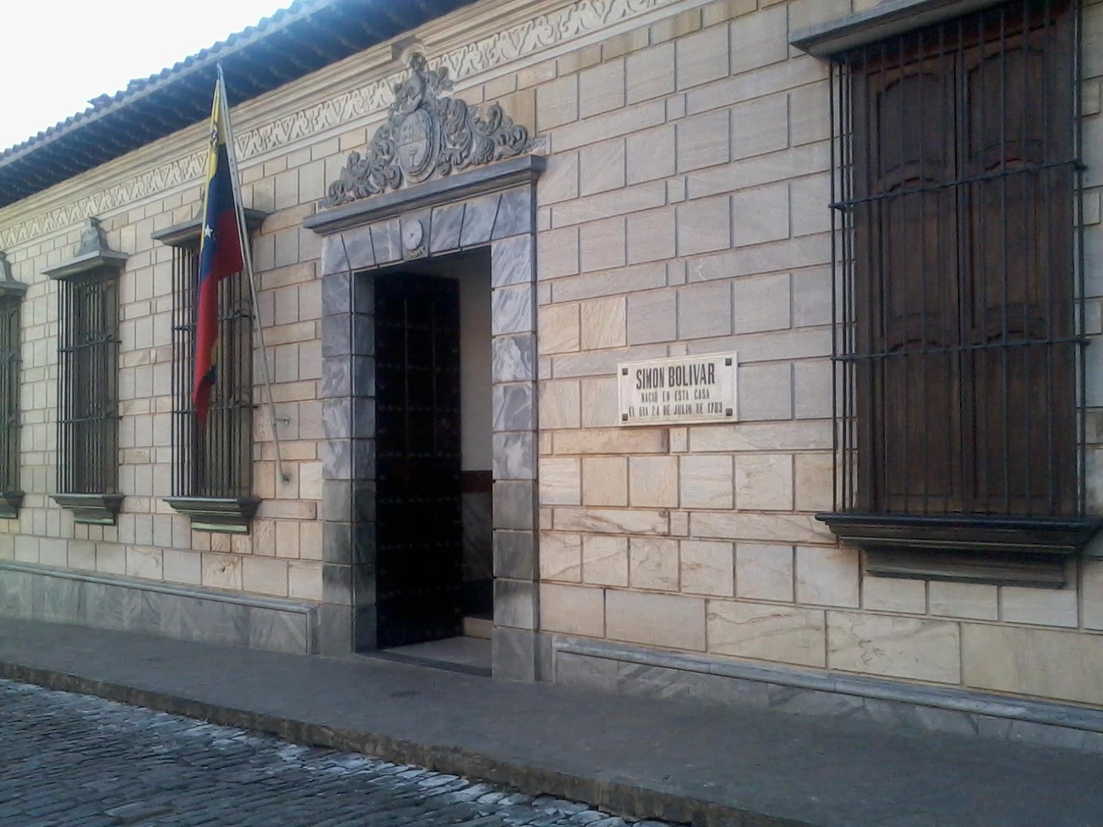 [[Casa Natal del Libertador Simón Bolívar