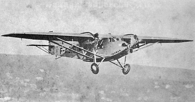 Farman F.300 right front Annuaire de L'Aéronautique 1931