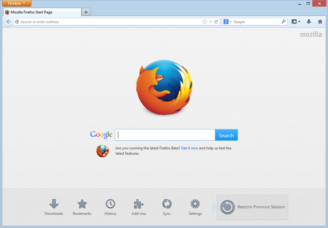 Mozilla Firefox Software