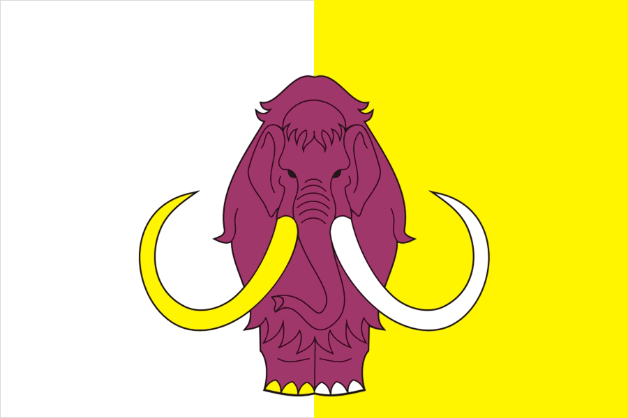 Bandeira de Ust-Yansky rayon.png