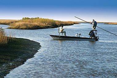 people on boat fishing