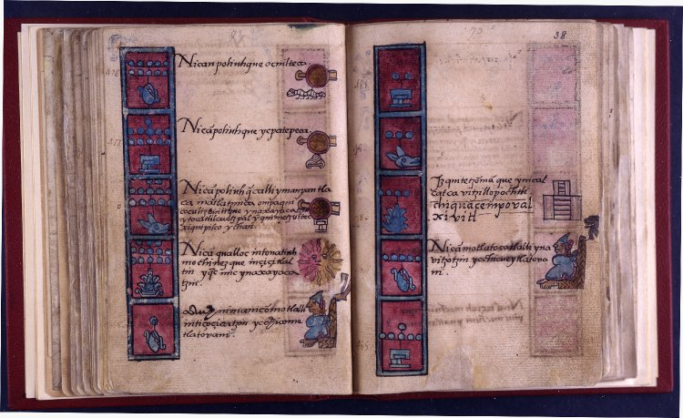 Archivo:Folio 38 of Aubin Codex.jpg