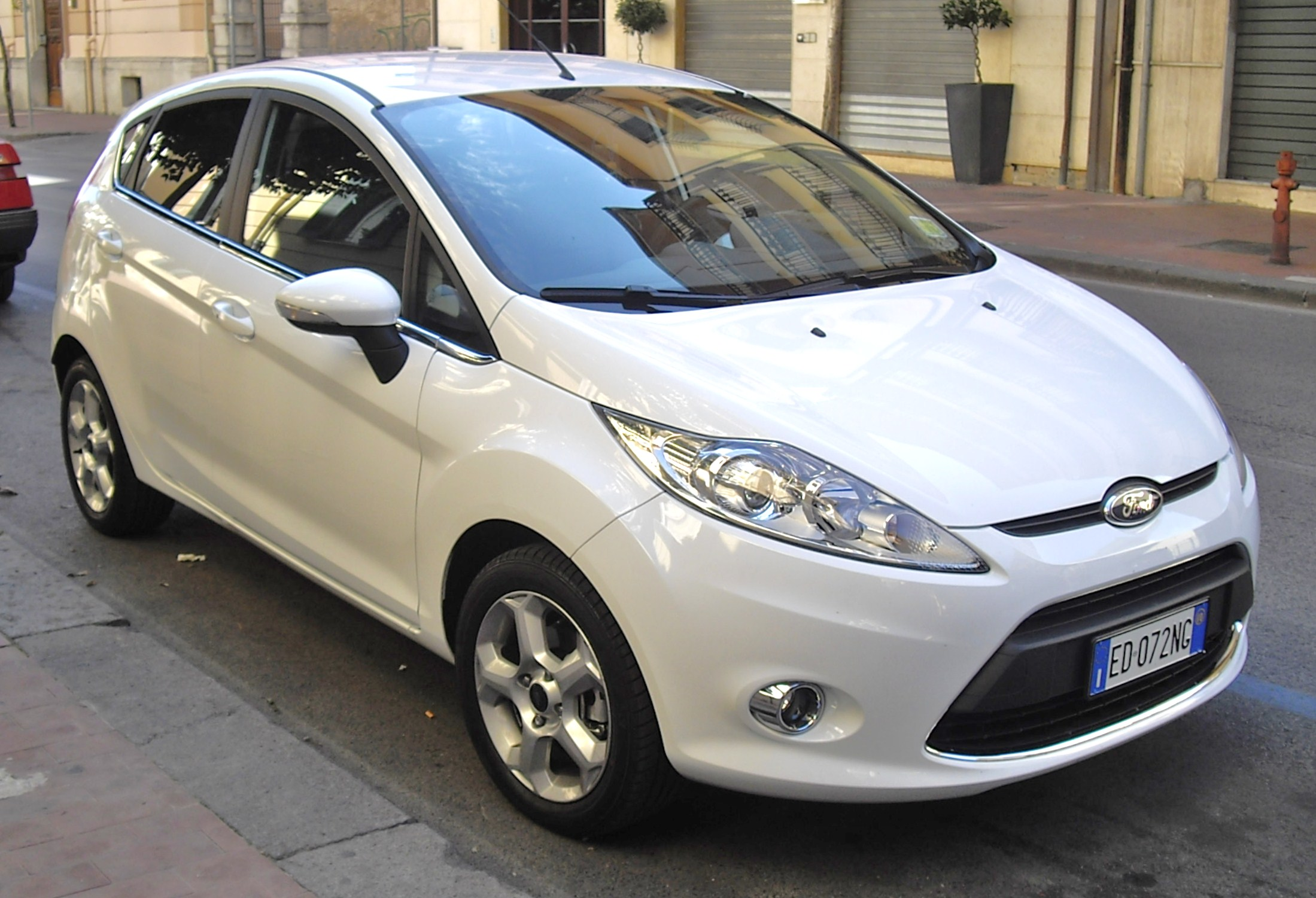 Ford Fiesta 1.4 TDCI front
