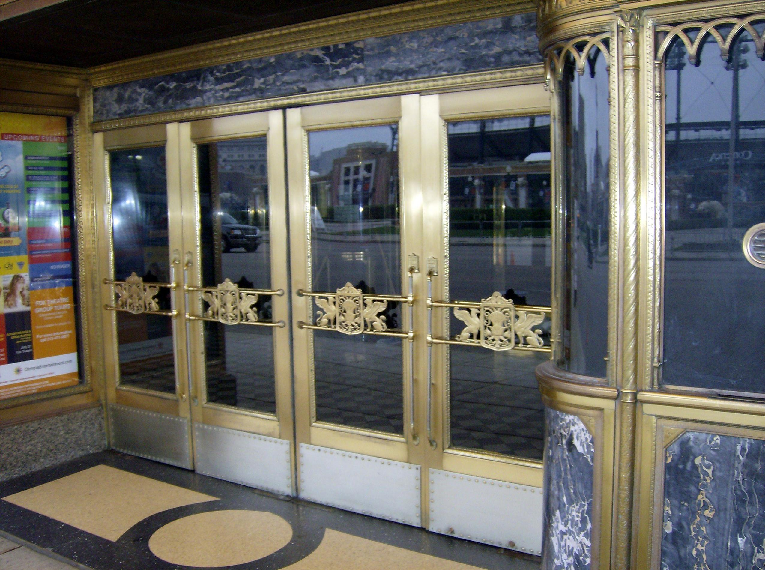 FileFox theatre doors.jpg & File:Fox theatre doors.jpg - Wikimedia Commons