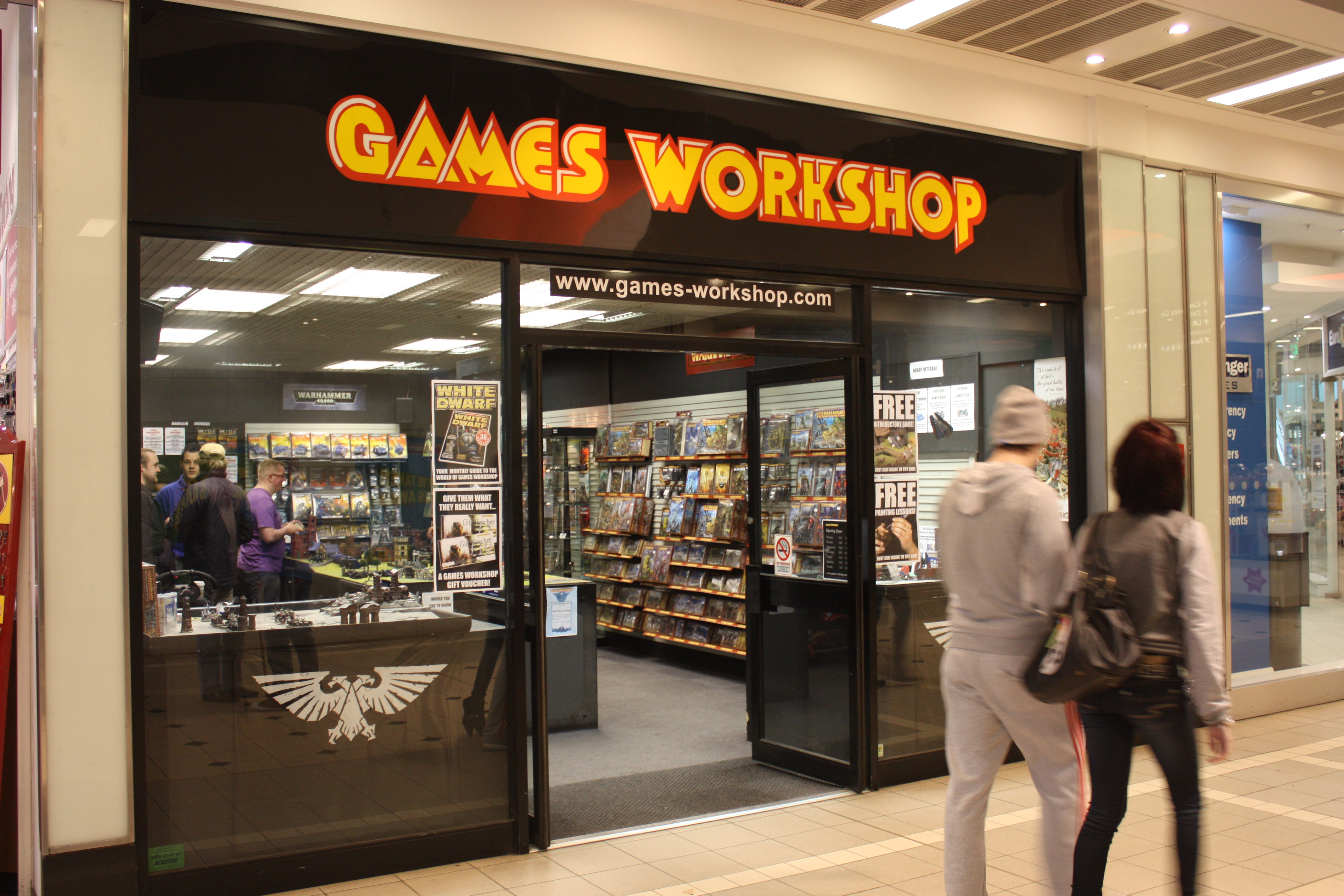 Games Workshop Hobby Decors Table Index