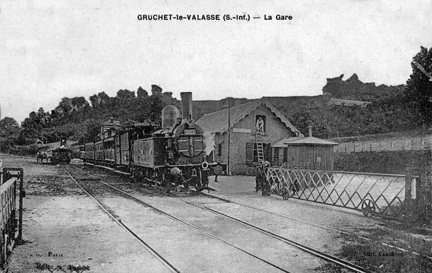 Gare De Gruchet Saint Antoine Wikip 233 Dia