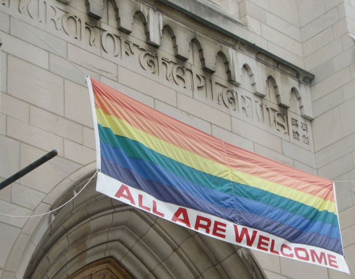 Gay friendly church