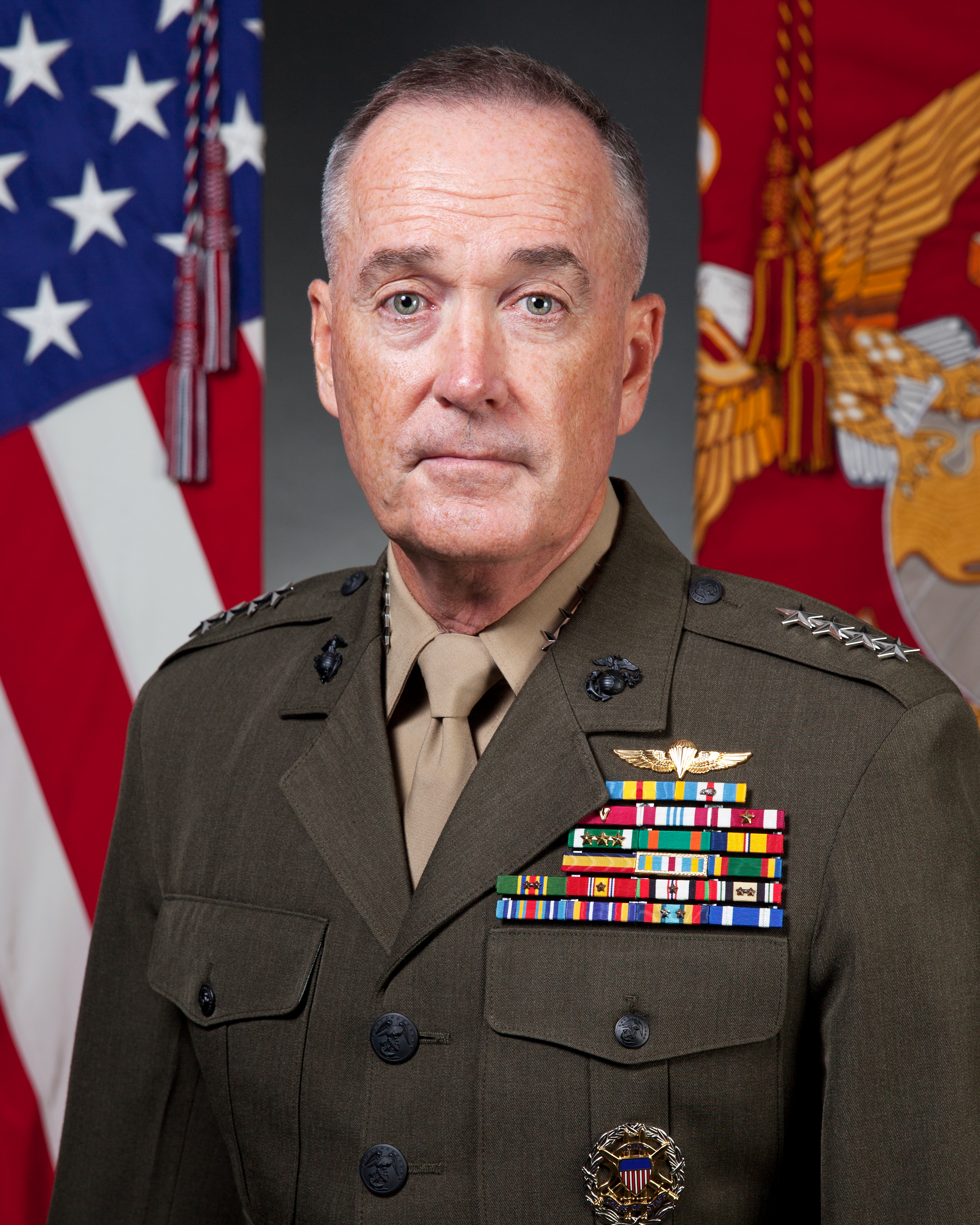 In General: In General Dunford's Most Recent Service Alpha Picture, He