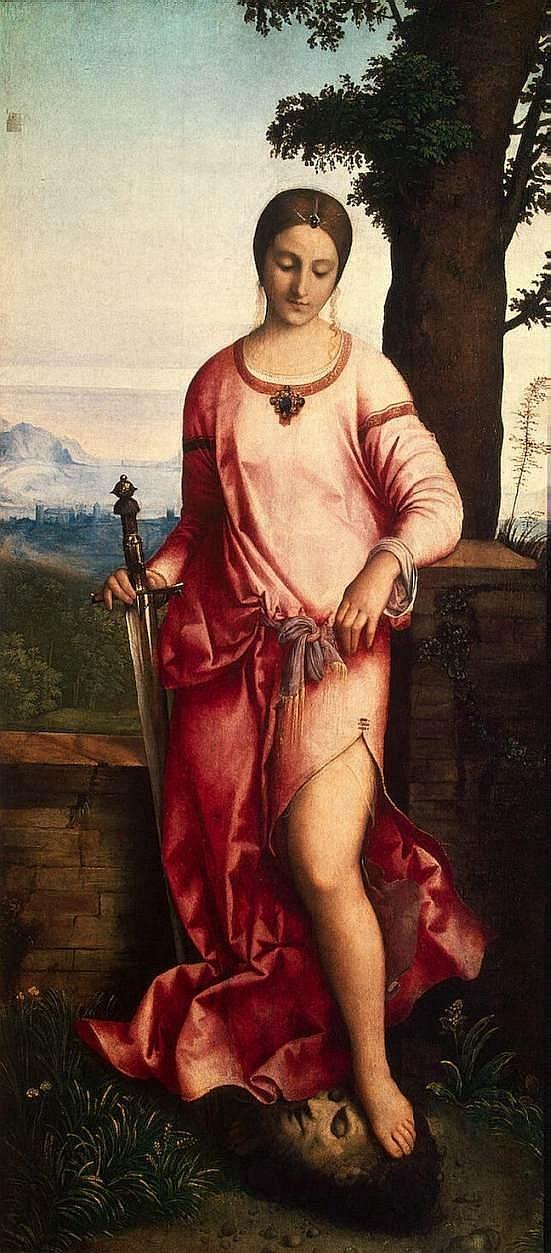 Giuditta con la testa di Oloferne -1504 -Giorgione