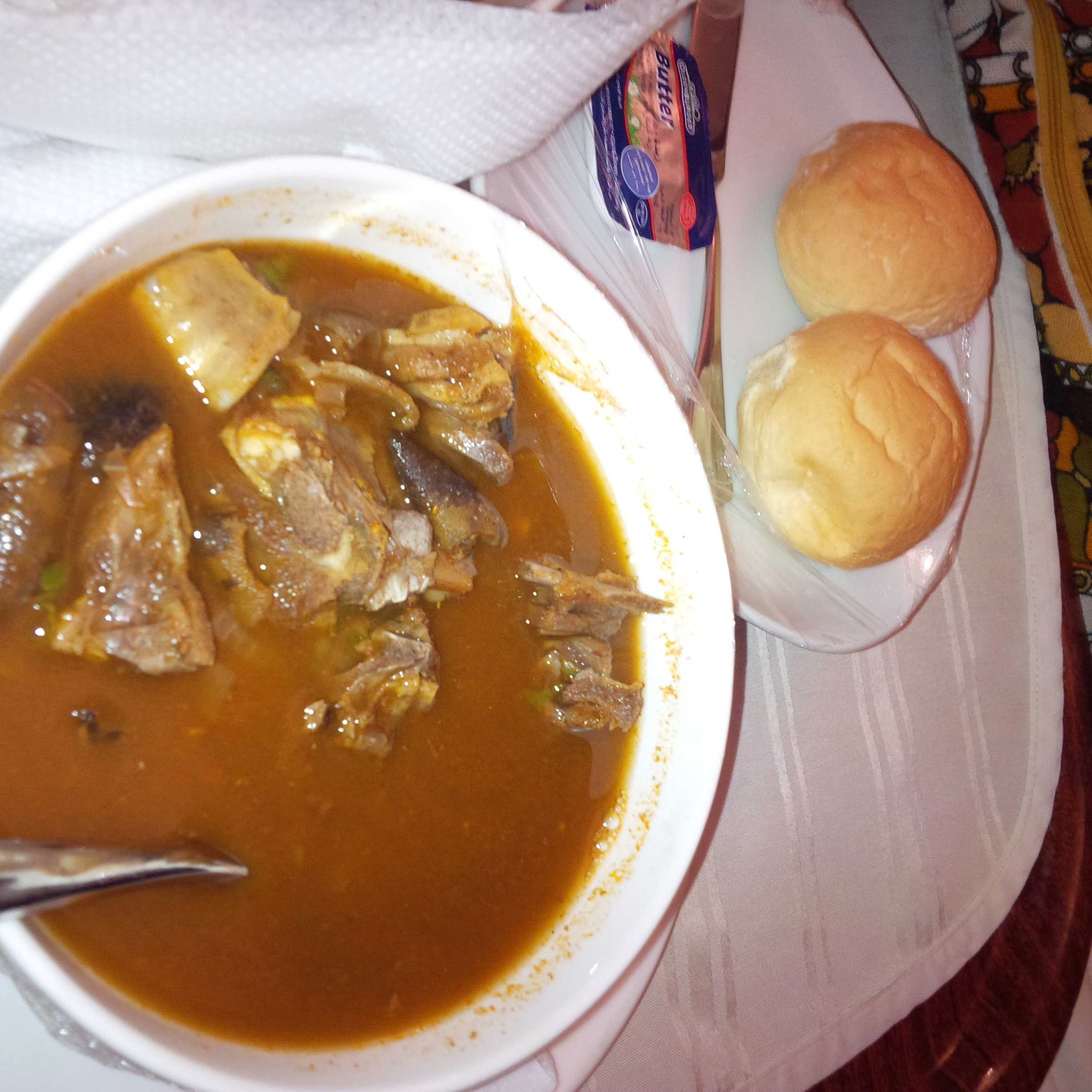 bread and pepper soup weird food combinations that Nigerians love
