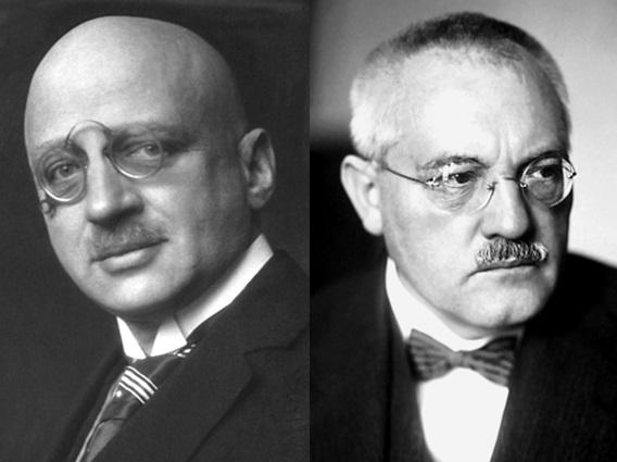 Fritz Haber och Carl Bosch, som tillsammans uppfann en metod för framställning av ammoniak i industriell skala.