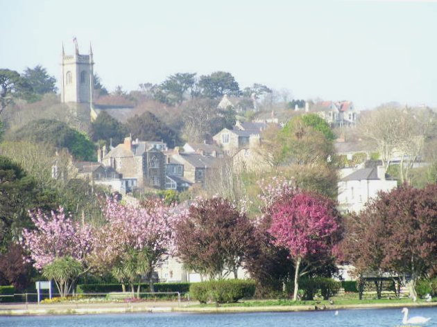 Helston Church area. - geograph.org.uk - 20402