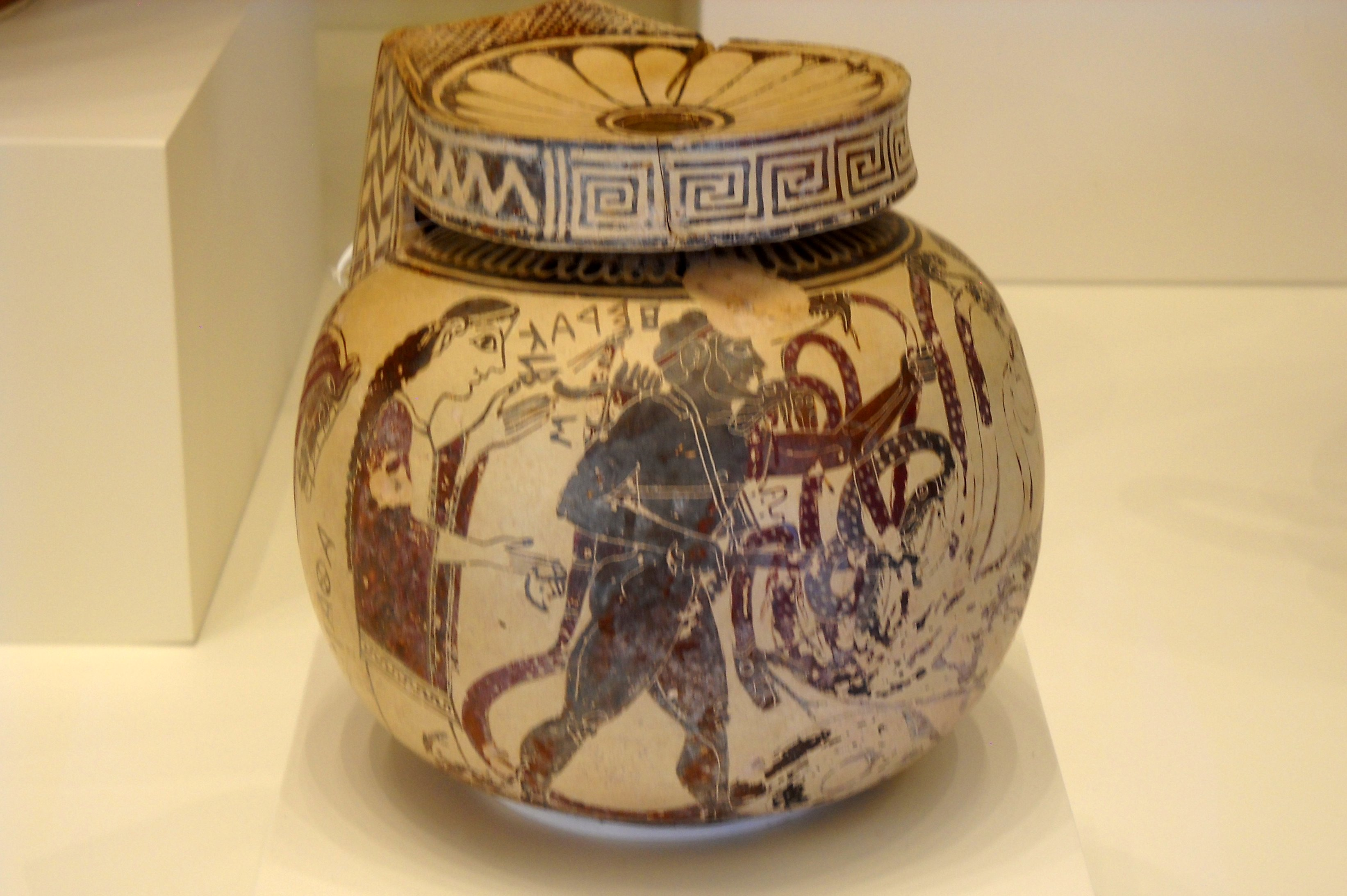 ... Container (Greek, Corinth, 600-575 BC) -Getty Villa - Collection.jpg