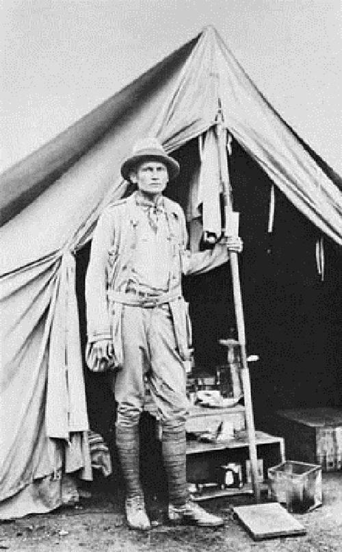 Hiram Bingham - Descubridor oficial de Machu Picchu.