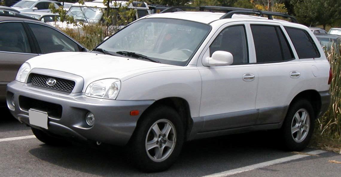 Detalle De Mi Coche 2001 Hyundai Santa Fe