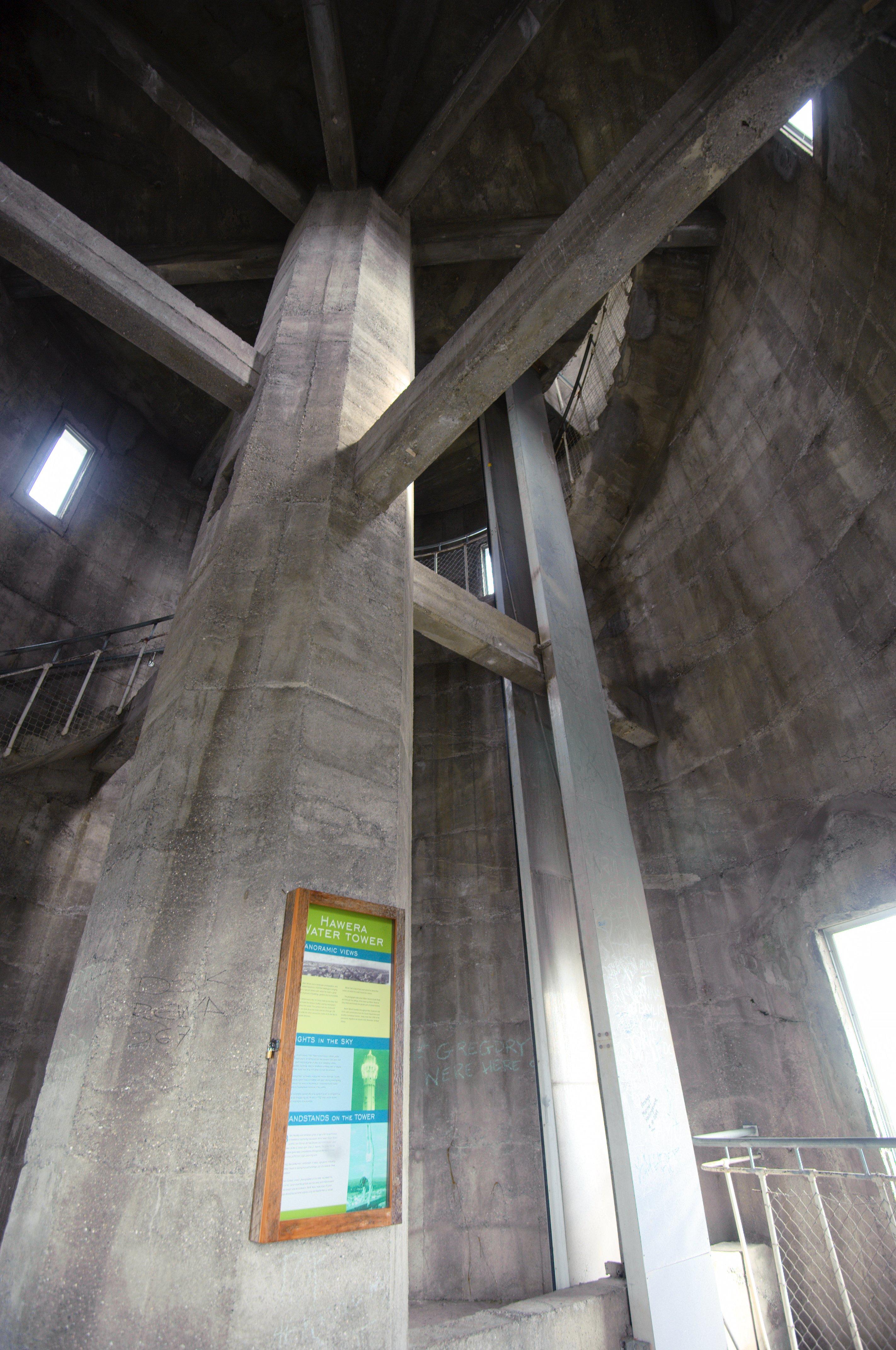 file inside hawera water tower. Black Bedroom Furniture Sets. Home Design Ideas
