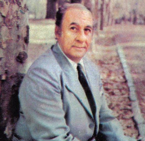 Isaco Abitbol, tapa del álbum ''Expresión de mi tierra'' (1979).
