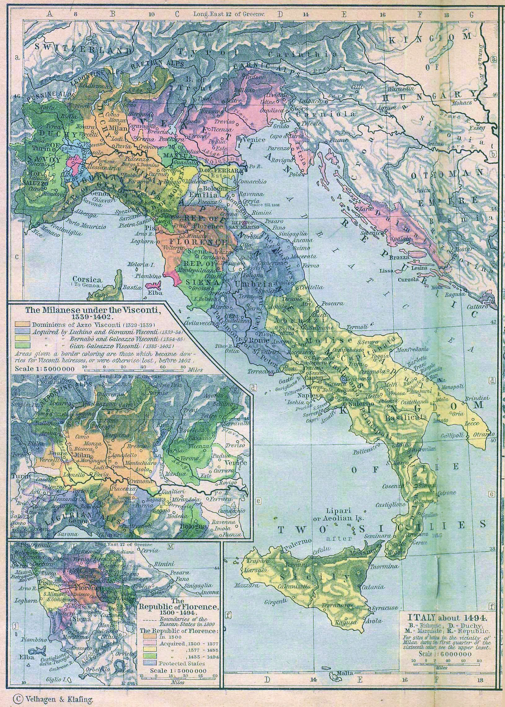 Italian city states wikipedia italy in 1494 after the peace of lodi gumiabroncs Image collections