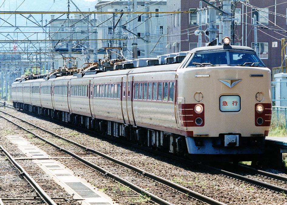 JR east 485 series tsugaru hirosaki