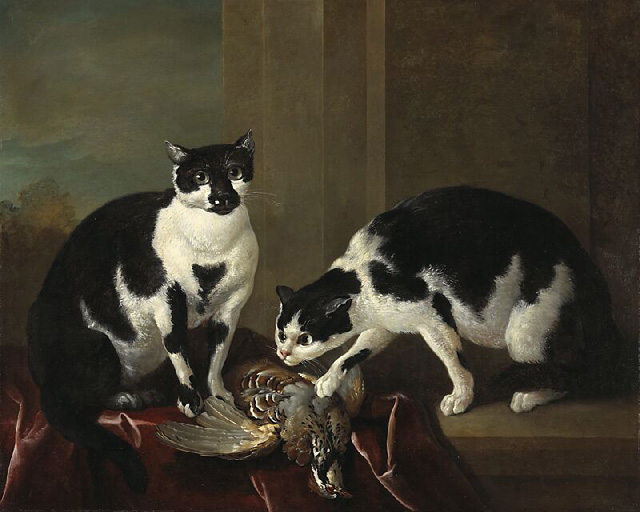File:Jean-Baptiste Oudry - Two Cats.jpg