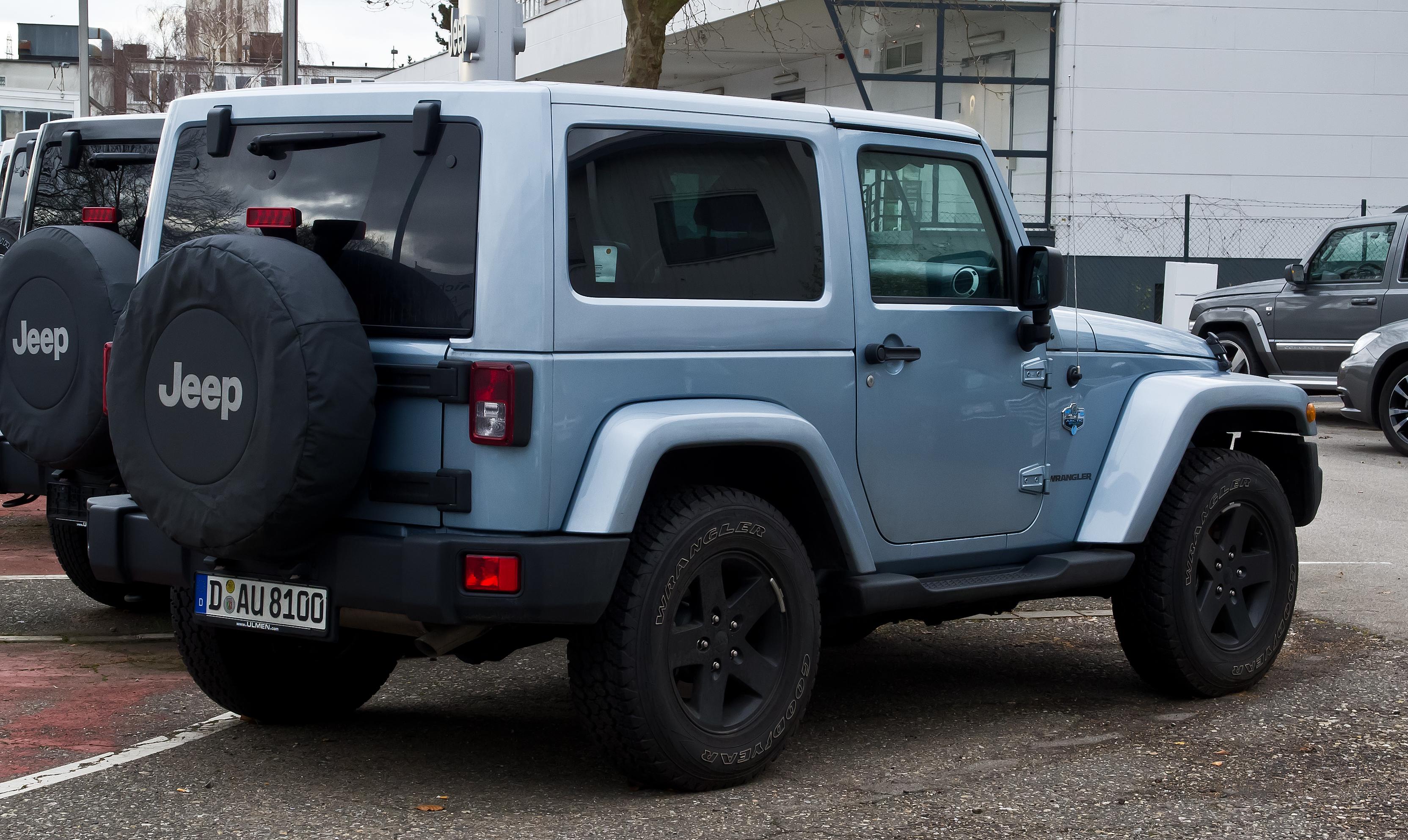 Jeep Wrangler - Wikiwand