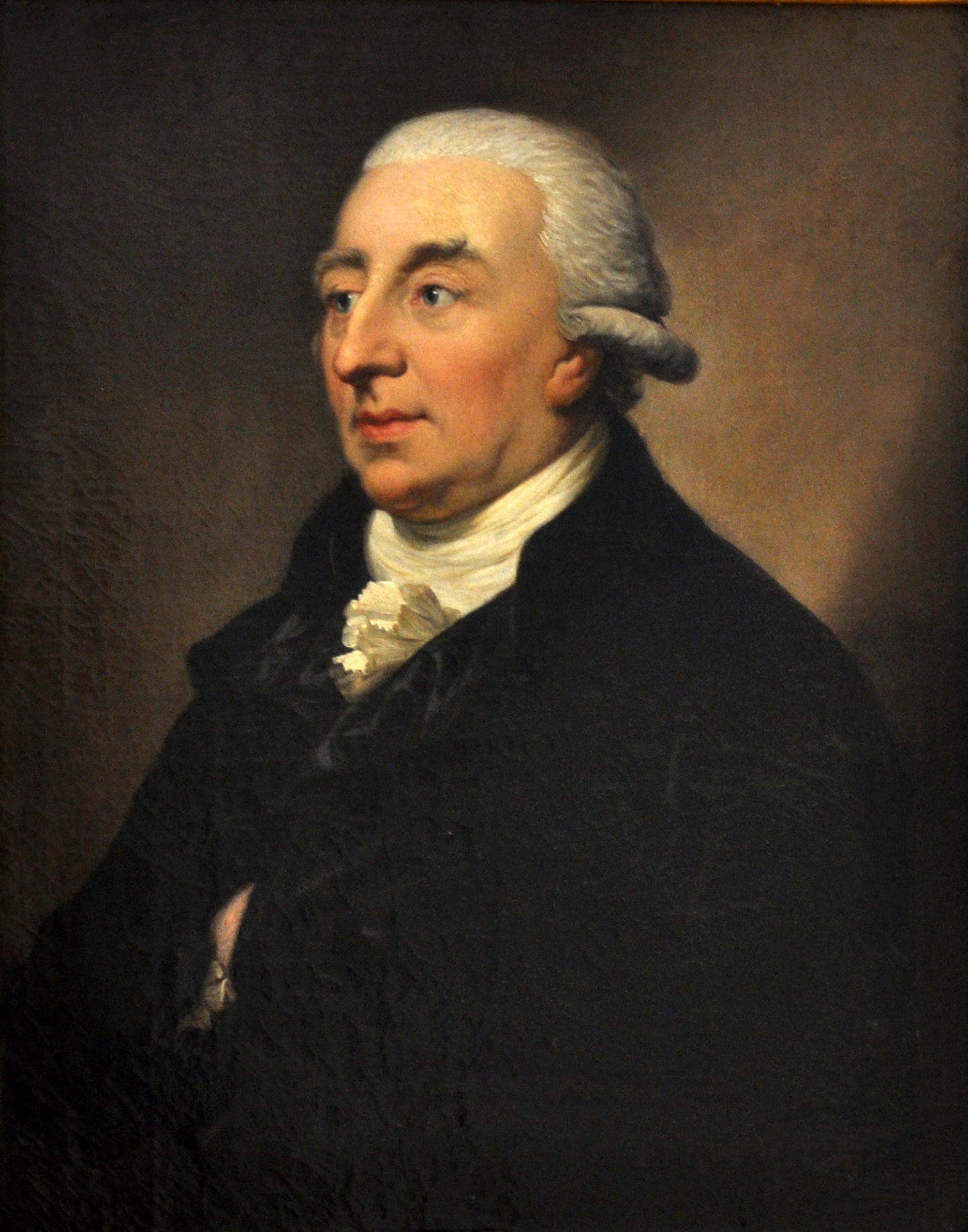 Johann Christoph Adelung, in a portrait by [[Anton Graff]]