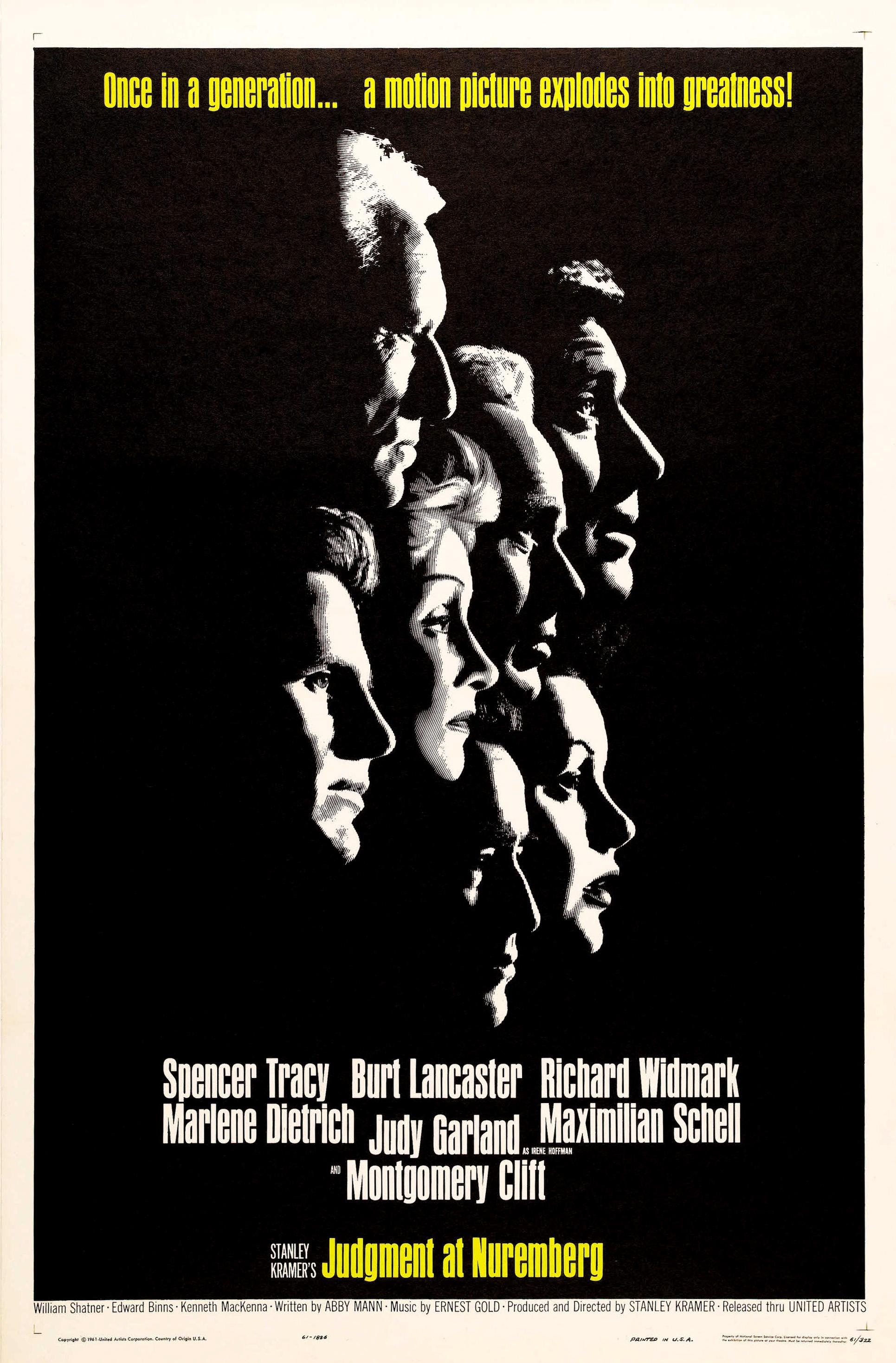 OTRO PUTO TÓPIC NO MUSICAL. Obras maestras del cine. - Página 2 Judgment_at_Nuremberg_%281961_film_poster%29