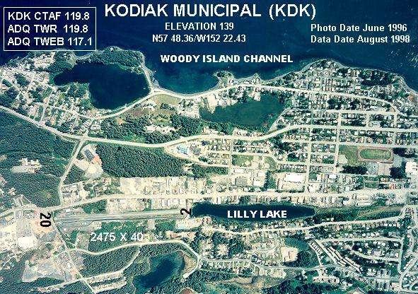 Kodiak Municipal Airport Wikipedia