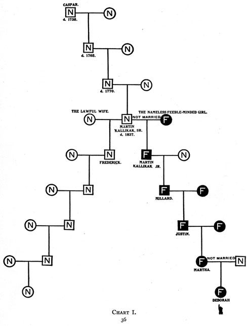 Family Pedigree Chart: Kallikaks chart1.jpg - Wikimedia Commons,Chart